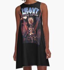 Heavy Metal Movie A-Line Dress