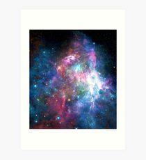 Nebula Galaxy Print Art Print