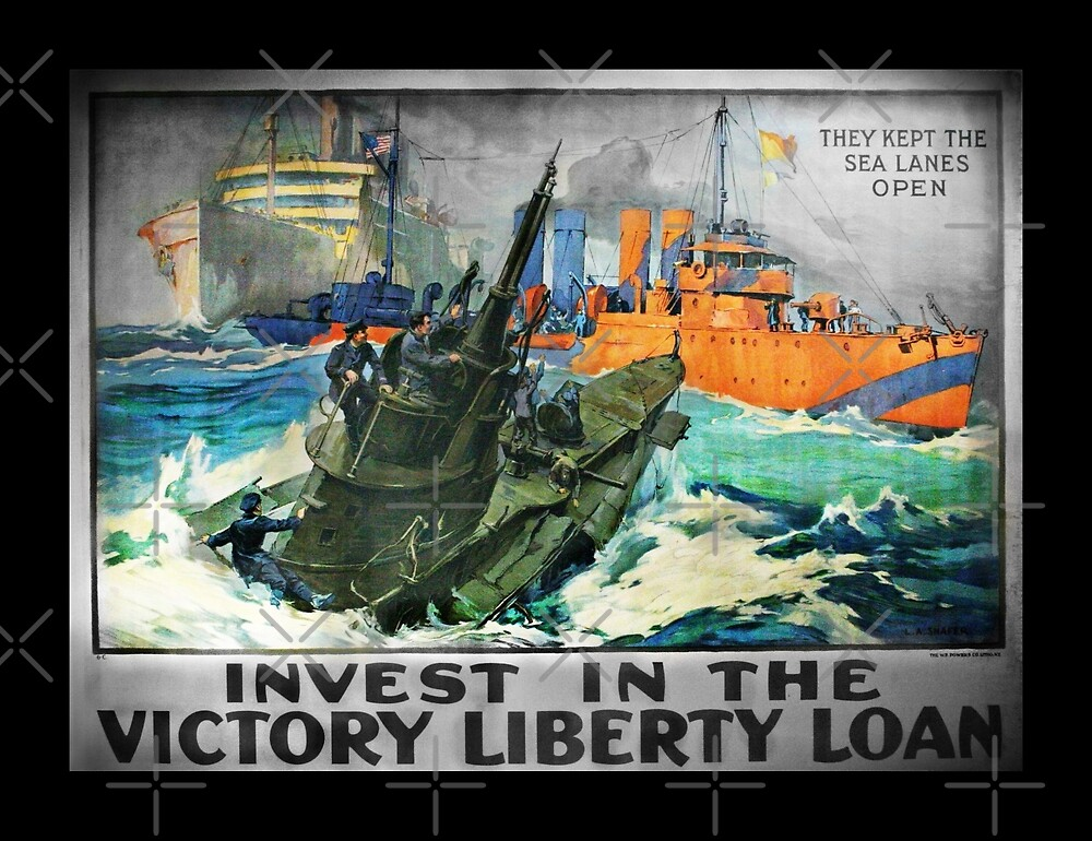 Victory Keep Sea Lanes Open by diane  addis