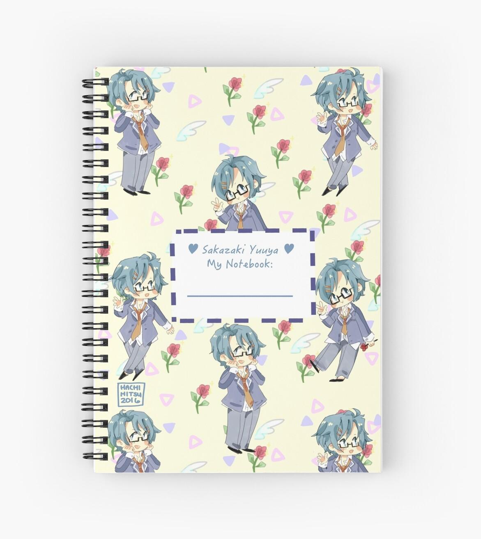 Yuuya Note by azuki-bean