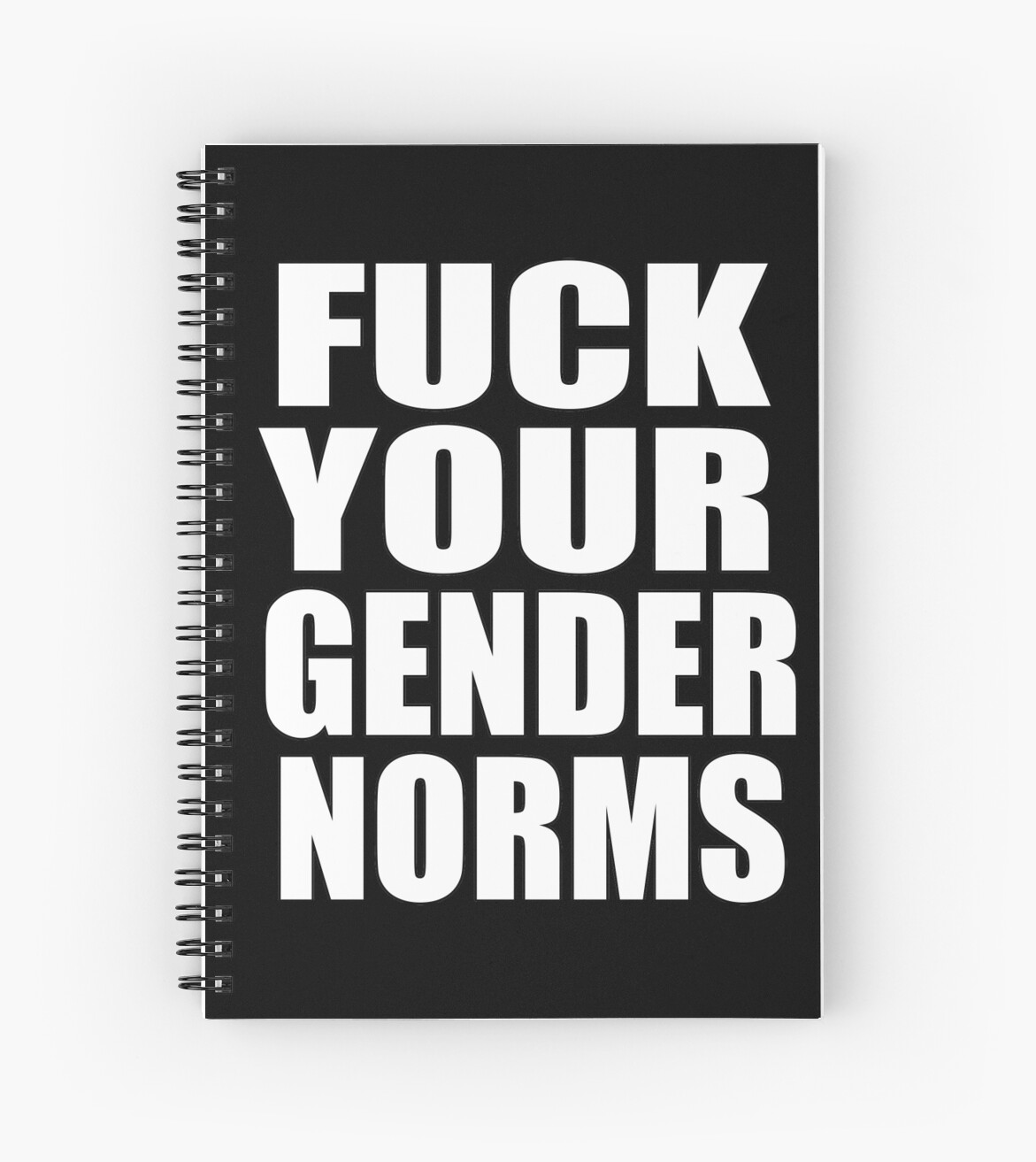 FUCK YOUR GENDER NORMS by nahm80
