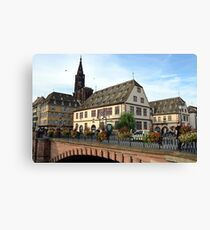 Strasbourg Old Town, France Canvas Print