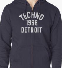 Techno Zipped Hoodie