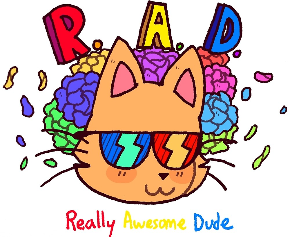 Rad Cat by MagicaJaphet