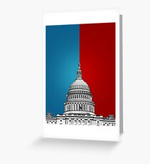 American Politics Greeting Card