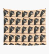 Mad cat  Wall Tapestry