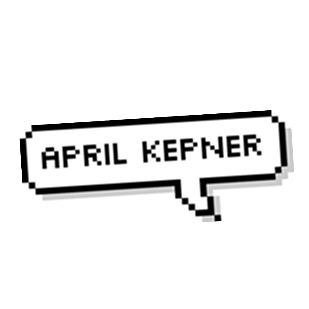 april kepner speech bubble by sarahsdrew