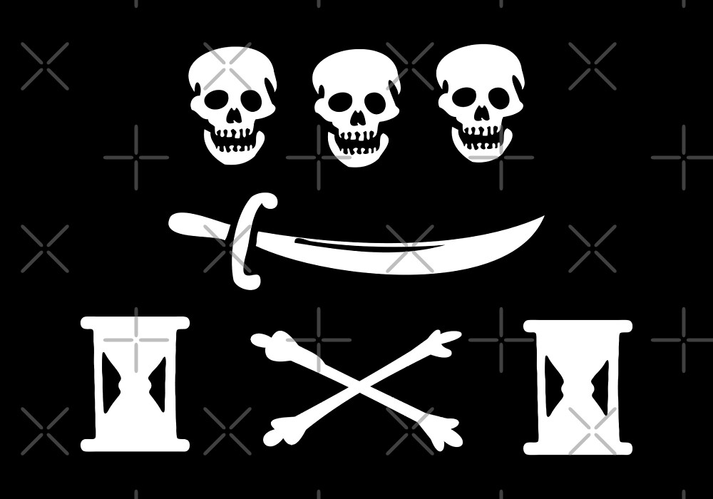 Jean Thomas Dulaien Pirate Flag by kayve