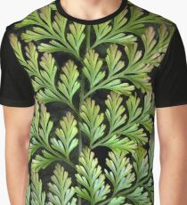 Leaf Abstract Graphic T-Shirt