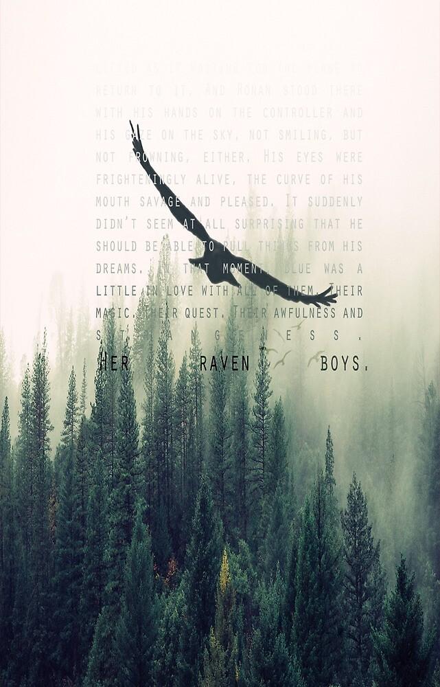 """Her Raven Boys"" by retribution1832"
