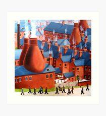 Home for tea. Art Print