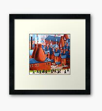 Home for tea. Framed Print
