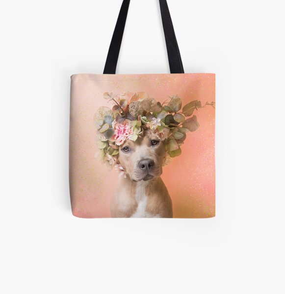 Flower Power, Journey All Over Print Tote Bag