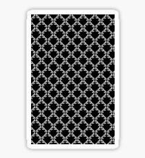 New Textura con Fondo Negro  Sticker