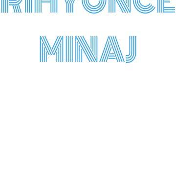 Rihyonce Minaj by parallaxgalaxy