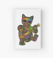 Cool Lucky Black Cat  Hardcover Journal