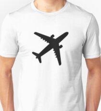 Airplane Jet Slim Fit T-Shirt