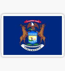 Michigan Flag Sticker