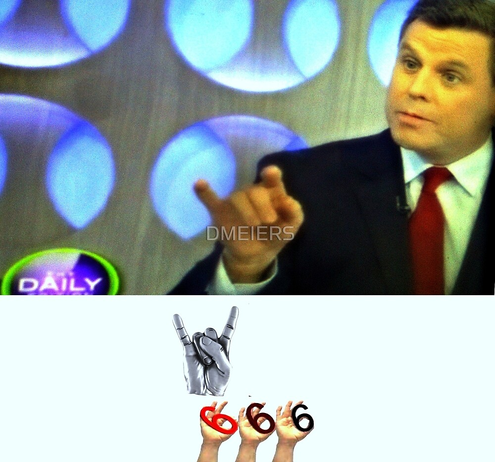 DAILY 666  ON THE NEWS by DMEIERS