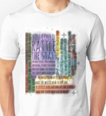 THRONE OF GLASS QUOTES Unisex T-Shirt