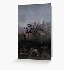 Willow Moon Greeting Card