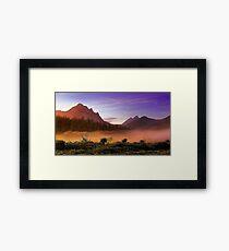 Monadnocks - Western Australia Framed Print