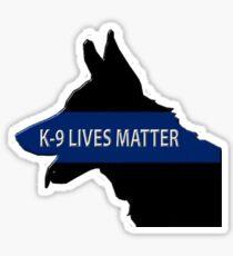K-9 Lives Matter Sticker