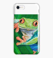 Treefrog iPhone Case/Skin