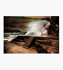 The gathering storm Photographic Print