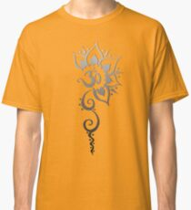 Rising Om - Silver Fade Classic T-Shirt