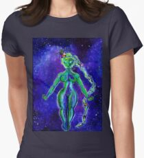 Creatrix - Mother Earth / Mother Goddess Painting Women's Fitted T-Shirt