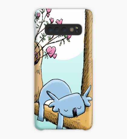 Cute Sleeping Koala and Father Christmas Case/Skin for Samsung Galaxy