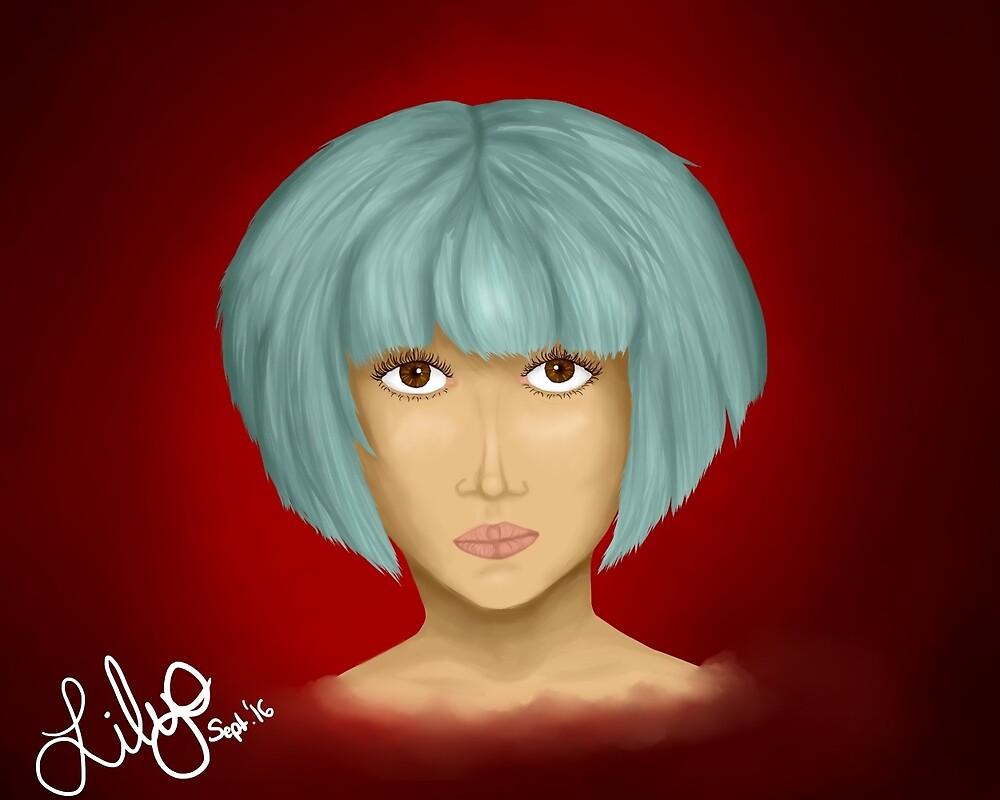 Blue Girl by Purplefreek99