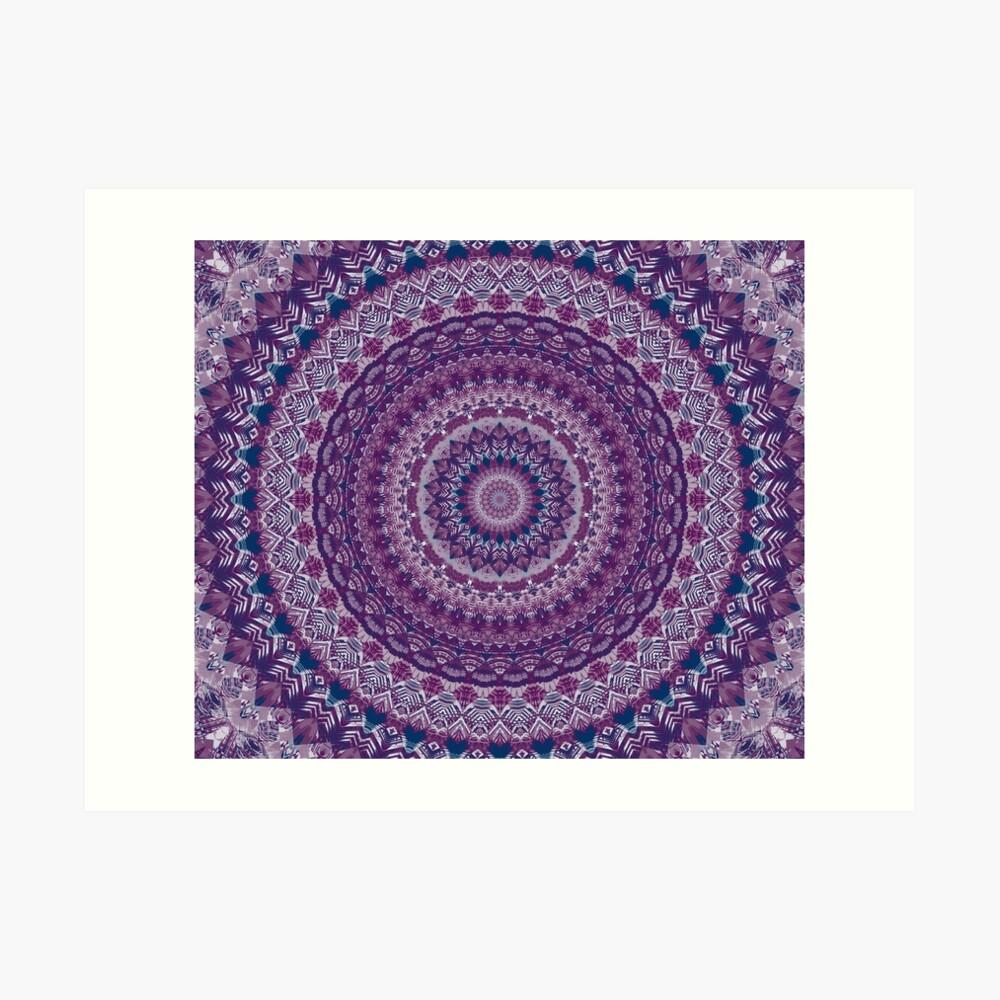 Mandala 123 Lámina artística