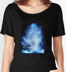 Jon Snow and Ghost - Game of thrones - Winter is here Women's Relaxed Fit T-Shirt
