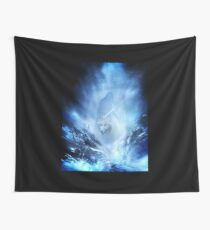 Jon Snow and Ghost - Game of thrones - Winter is here Wall Tapestry