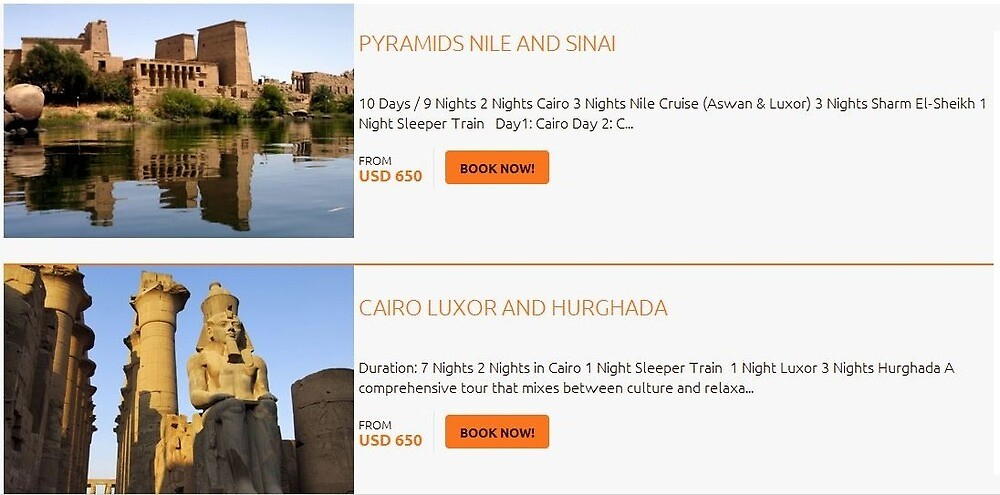 Looking For the Best Deals for Cheap Egypt Luxury Tours & Vacation Travel Packages by deluxetravelegy