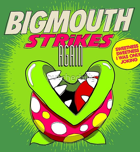 The 80's 8-bit Project - The Big Mouth by butcherbilly