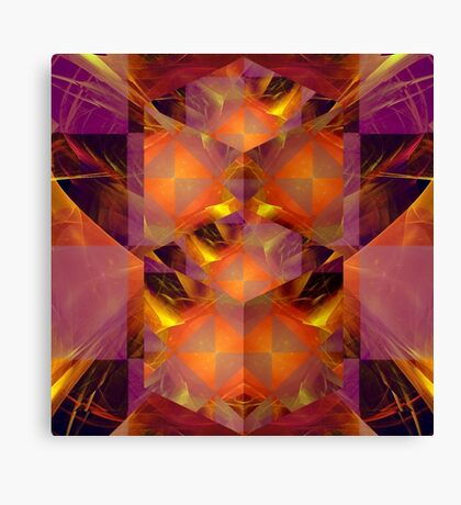 Fractured Fractal Canvas Print