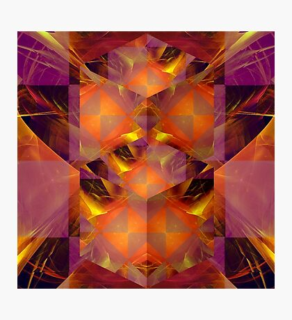 Fractured Fractal Photographic Print