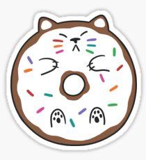 Cat Donut Sticker