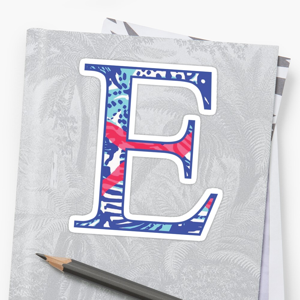Lilly Pulitzer by Love Your Letters