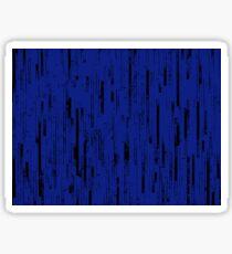 Line Art - The Bricks, black and dark blue Sticker