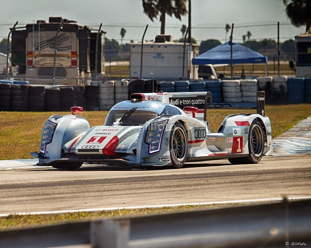 Prototype Sports Car at Sebring by gillfoto