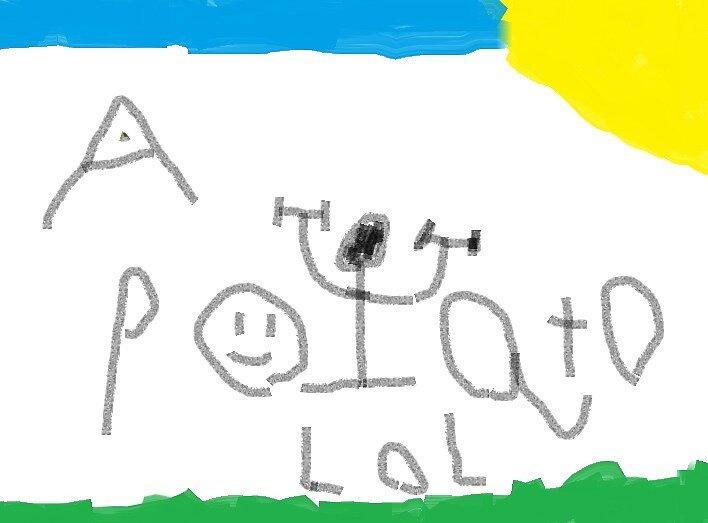 A Potato Lol by MitchyBoy