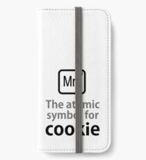 Atomic Symbol for Cookie iPhone Wallet/Case/Skin