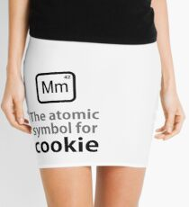 Atomic Symbol for Cookie Mini Skirt