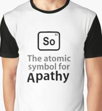 Atomic Symbol for Apathy Graphic T-Shirt