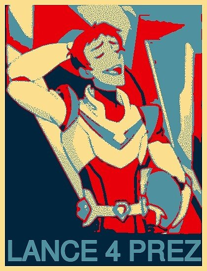 Lance for President by maxxofbraavos