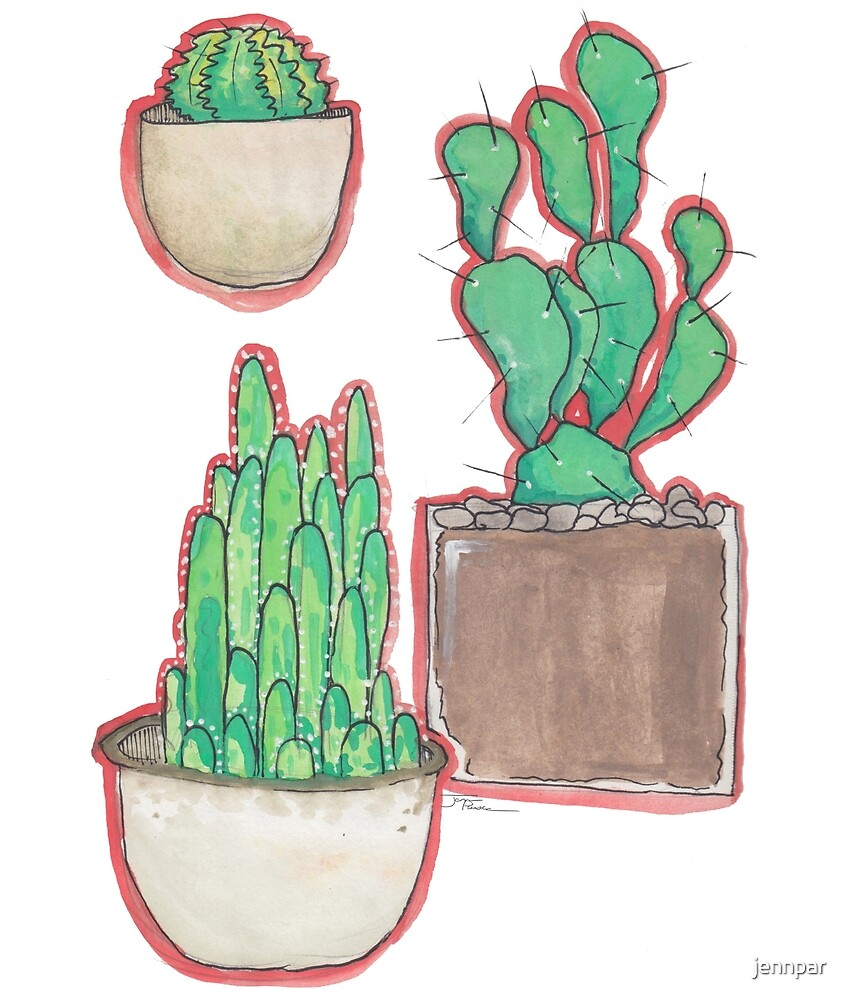 Pots and Plants by jennpar